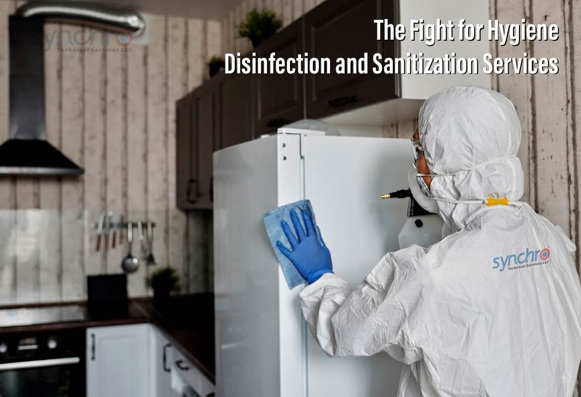 The Fight for Hygiene – Disinfection and Sanitization Services