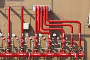 Wet Fire Sprinkler system