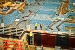 blur construction background